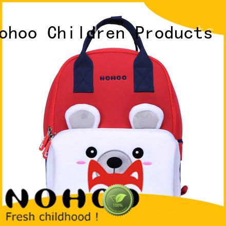 backpack kid Hot american made backpacks custom Nohoo Children Products Brand family