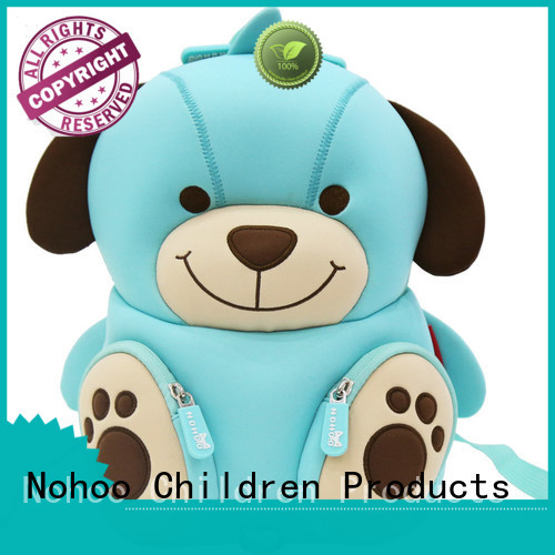 Quality Nohoo Children Products Brand custom made backpacks for kids bag boys
