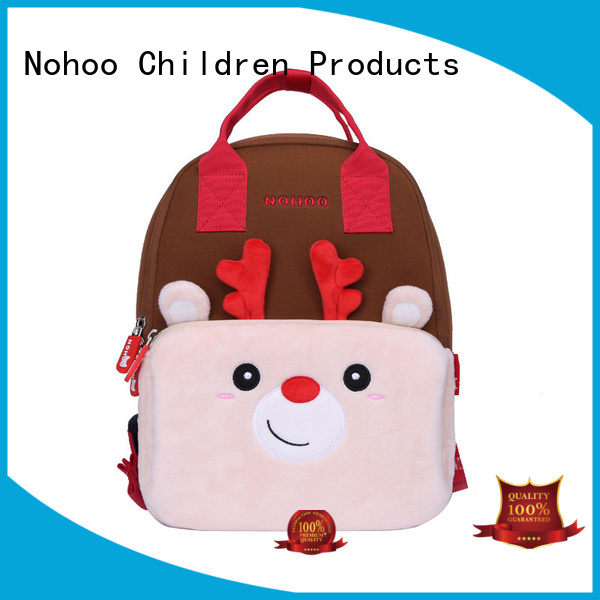 family Custom travel cute baby bags backpack Nohoo Children Products