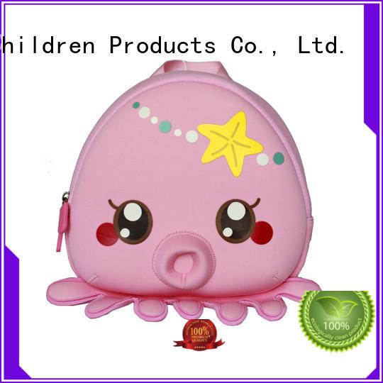 ecofriendly cartoon herschel kids backpack environmental Nohoo Children Products Brand