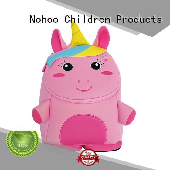 primary tyrannosaurus Nohoo Children Products Brand custom made backpacks for kids factory