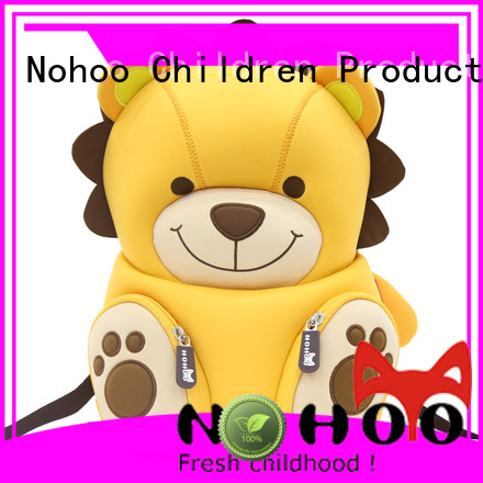 Nohoo Children Products Brand hippo custom made backpacks for kids comfortable supplier