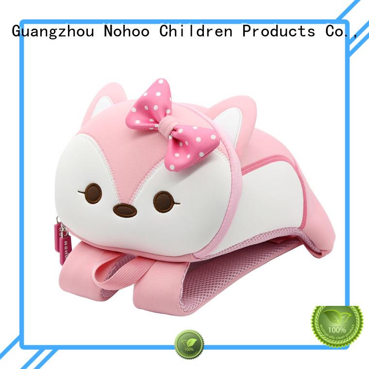 tyrannosaurus popular cute travel custom made backpacks for kids Nohoo Children Products Brand