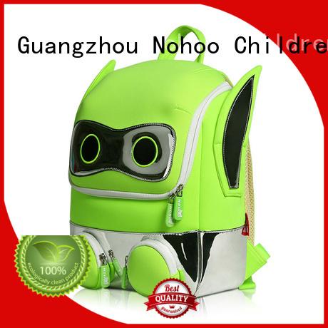 preschool backpack boy shape carton neoprene Nohoo Children Products Brand toddler boy backpack