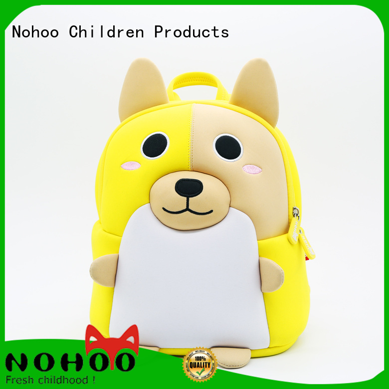Quality Nohoo Children Products Brand preschool backpack boy bags