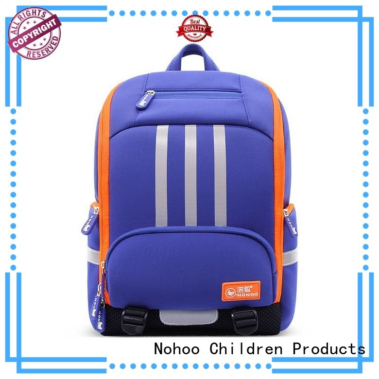 Hot preschool backpack boy arrival Nohoo Children Products Brand