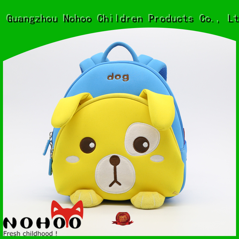 warm test comfortable Nohoo Children Products Brand preschool backpack boy factory