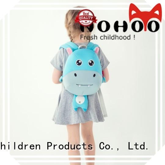 Nohoo Children Products Brand shape nh003 custom made backpacks for kids