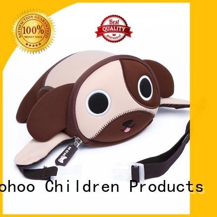Wholesale neoprene kindergarten designer waist bag Nohoo Children Products Brand