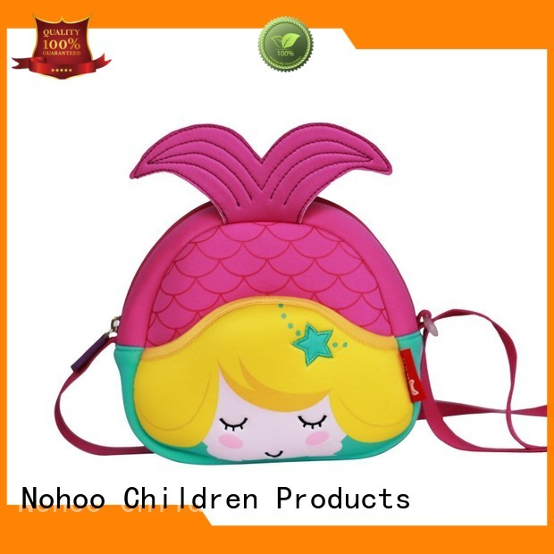 unisex personalized messenger bags ecofriendly Nohoo Children Products company