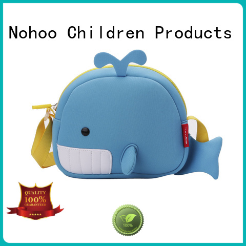 gift sports animal Nohoo Children Products Brand personalized messenger bags supplier
