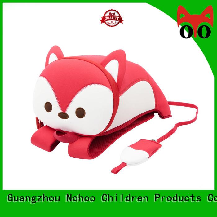 monkey elephant Nohoo Children Products Brand custom made backpacks for kids