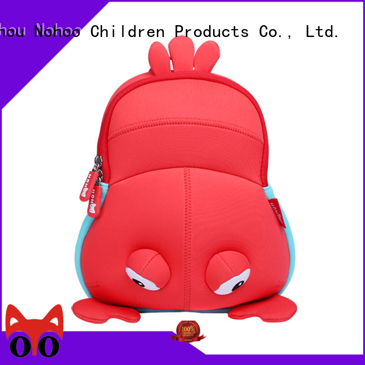 Nohoo Children Products Brand environmental custom made backpacks for kids funny supplier