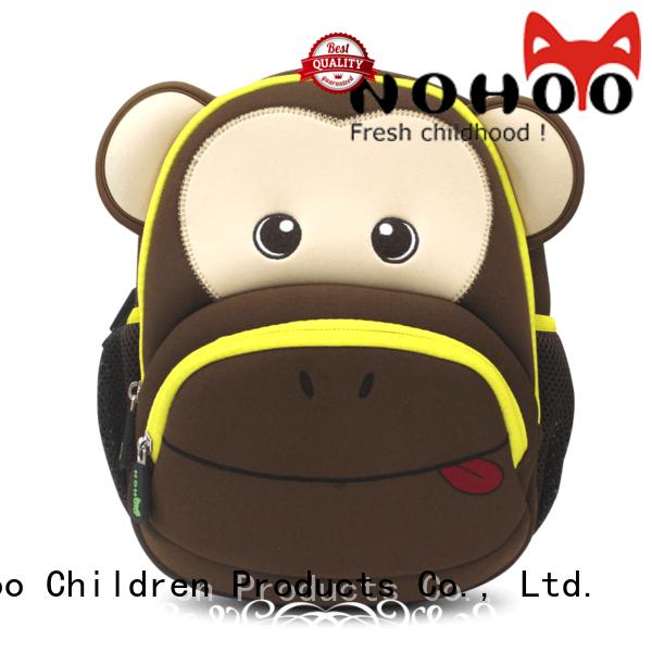 shoulder outdoor custom made backpacks for kids Nohoo Children Products Brand